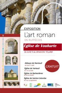 Exposition l'Art Roman en Ruffécois @ Eglise Notre-Dame de VOUHARTE