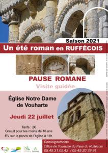 Pause romane @ Eglise Notre-Dame de Vouharte